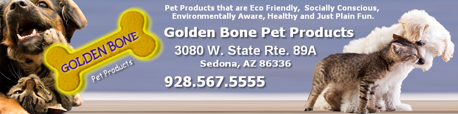 Golden Bone Pet Products, Sedona, Arizona